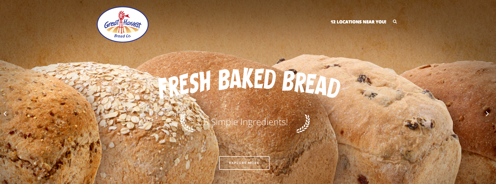 New Great Harvest Bread Co. Website!